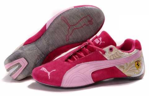 basket puma femme scratch