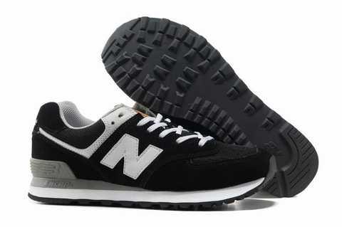 chaussures new balance femme noir